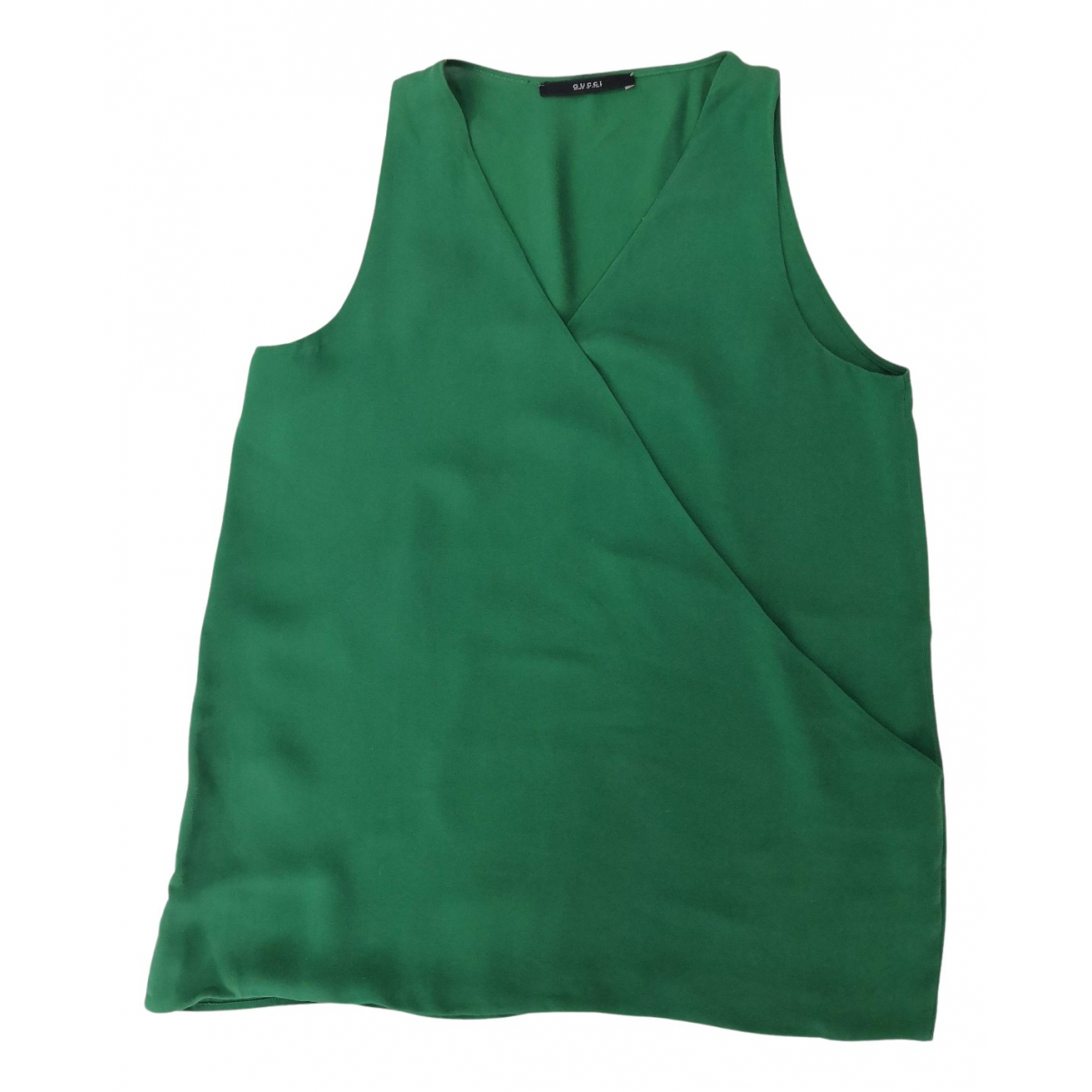 Gucci N Green Silk  top for Women 44 IT
