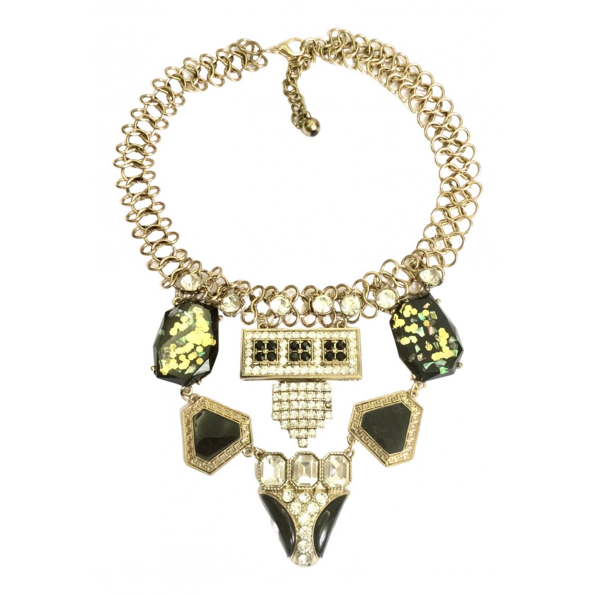 Yves Saint Laurent N Gold Metal necklace for Women N