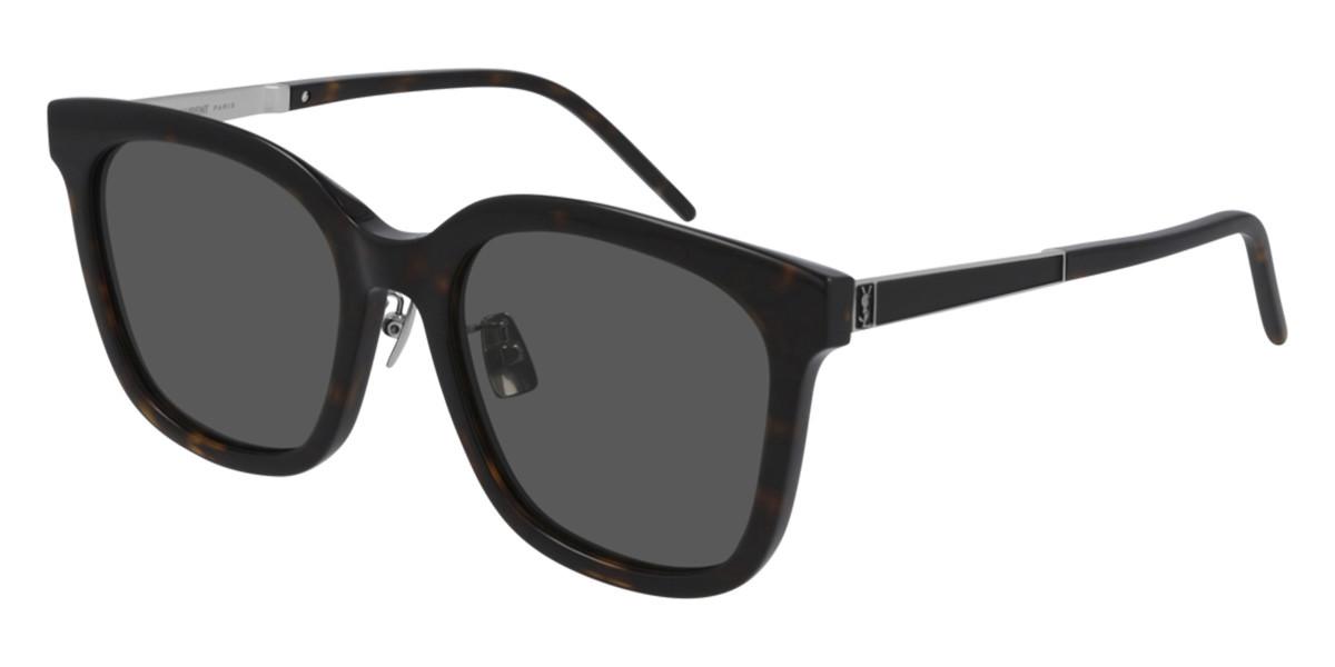 Saint Laurent SL M77/K Asian Fit 003 Women's Sunglasses  Size 54 - Free RX Lenses