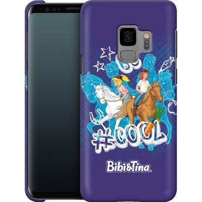 Samsung Galaxy S9 Smartphone Huelle - Bibi und Tina Be Cool von Bibi & Tina