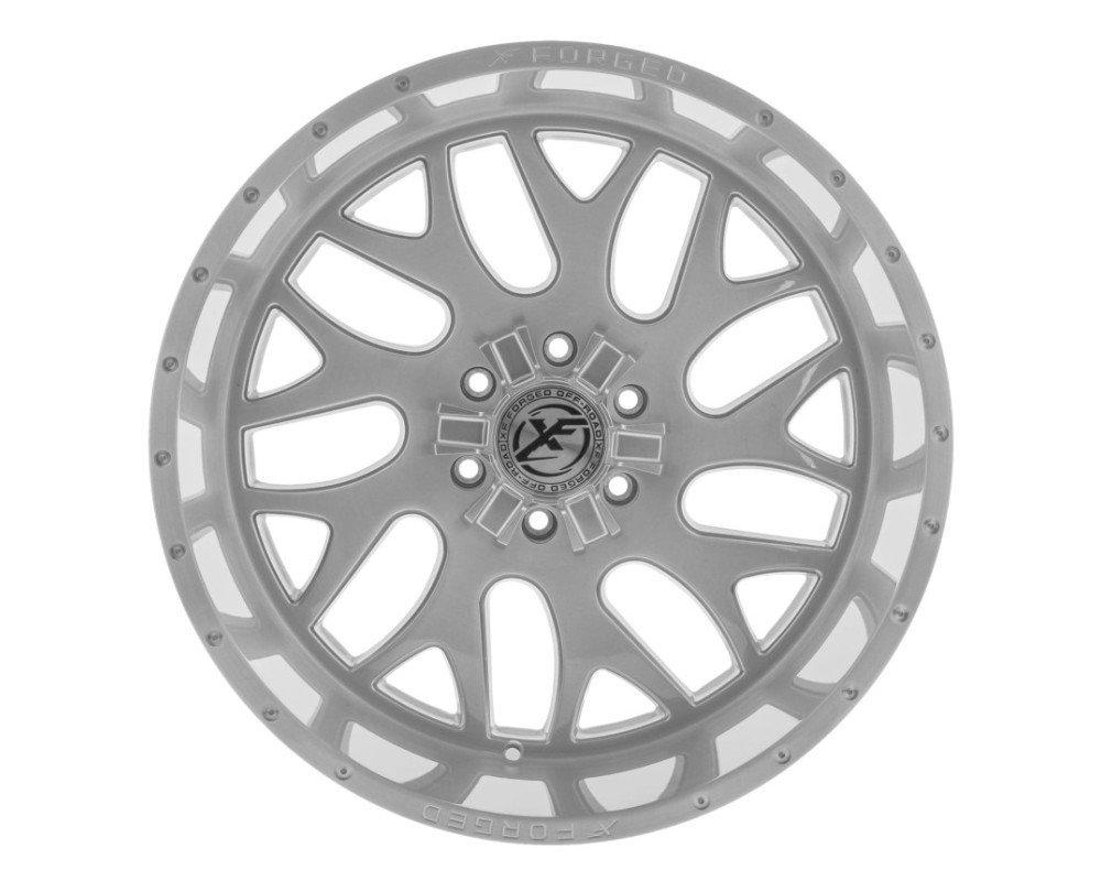 XF Off-Road XFX-301 Wheel 20x10 6x135|6x139.7 -12mm Brushed Milled