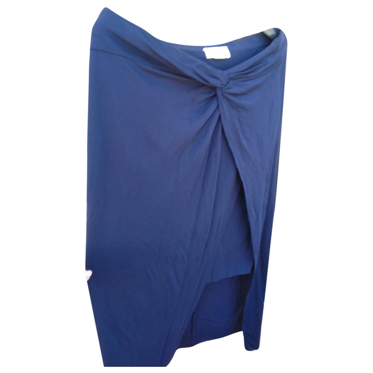 Helmut Lang - Jupe   pour femme - bleu