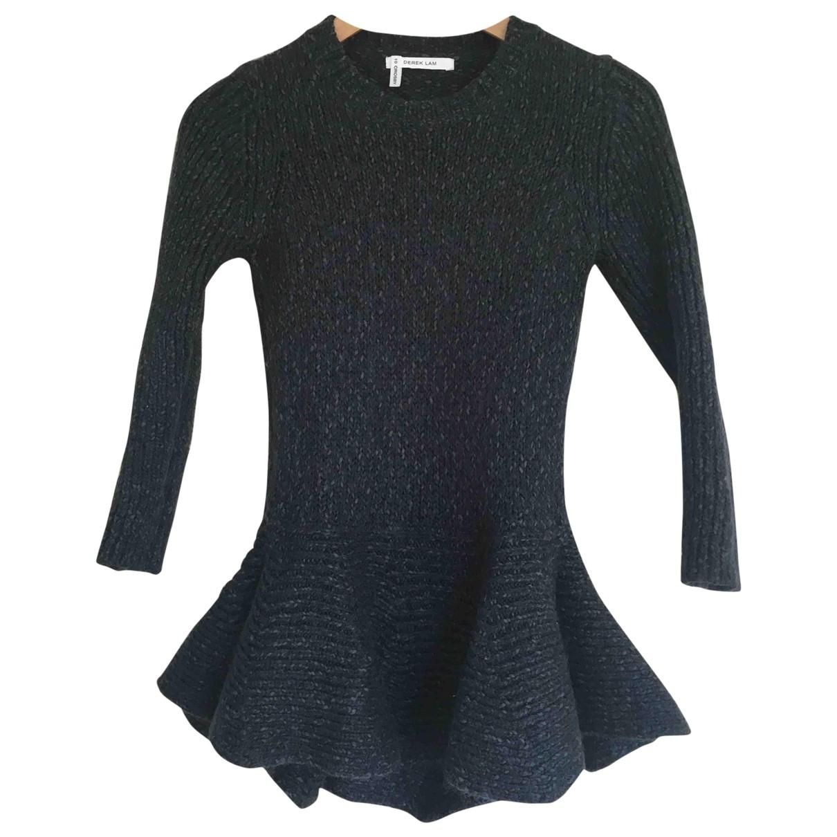 10 Crosby By Derek Lam \N Green Wool Knitwear for Women S International