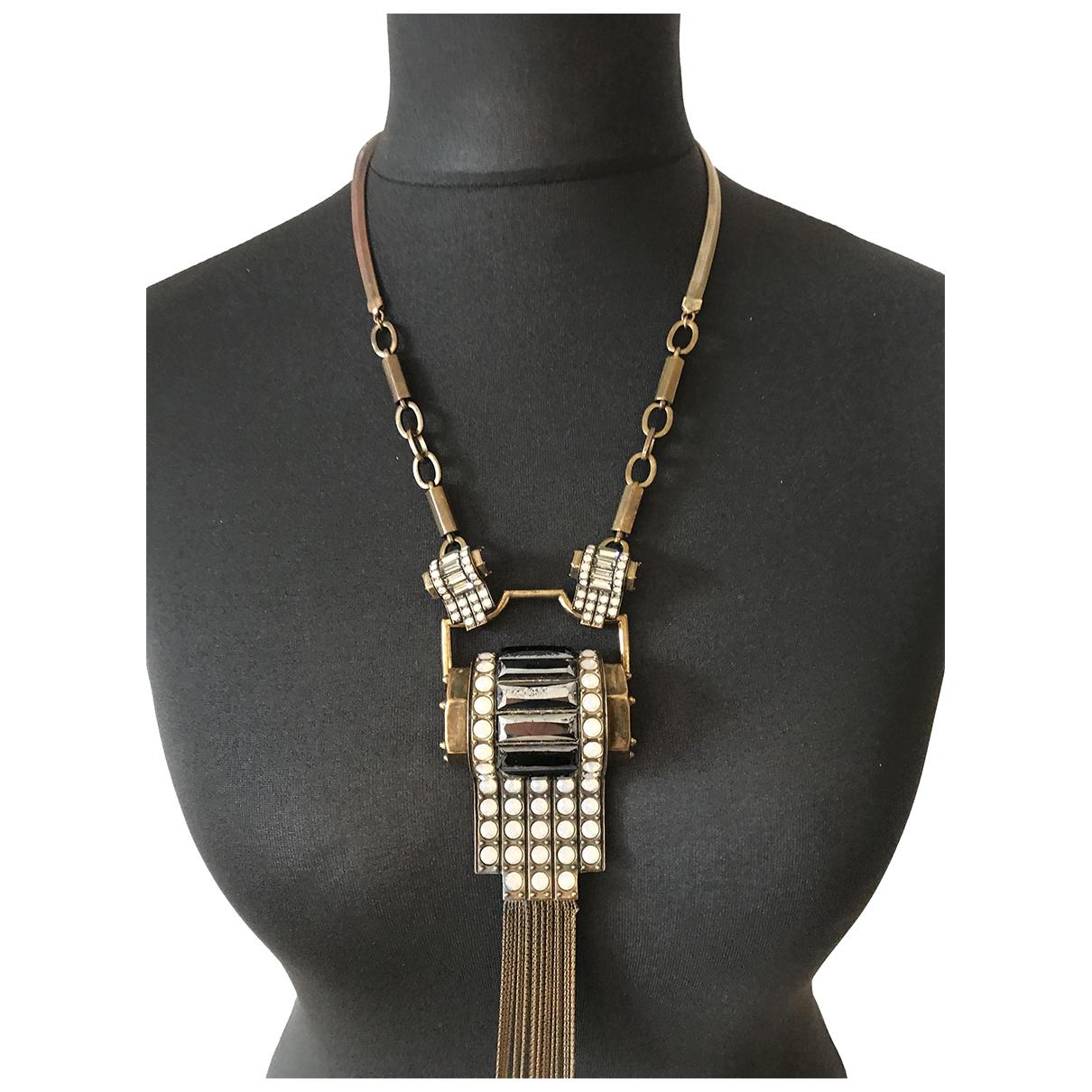 Jean Paul Gaultier N Metal necklace for Women N
