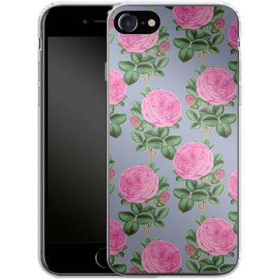 Apple iPhone 7 Silikon Handyhuelle - Pinky-Po von Zala Farah