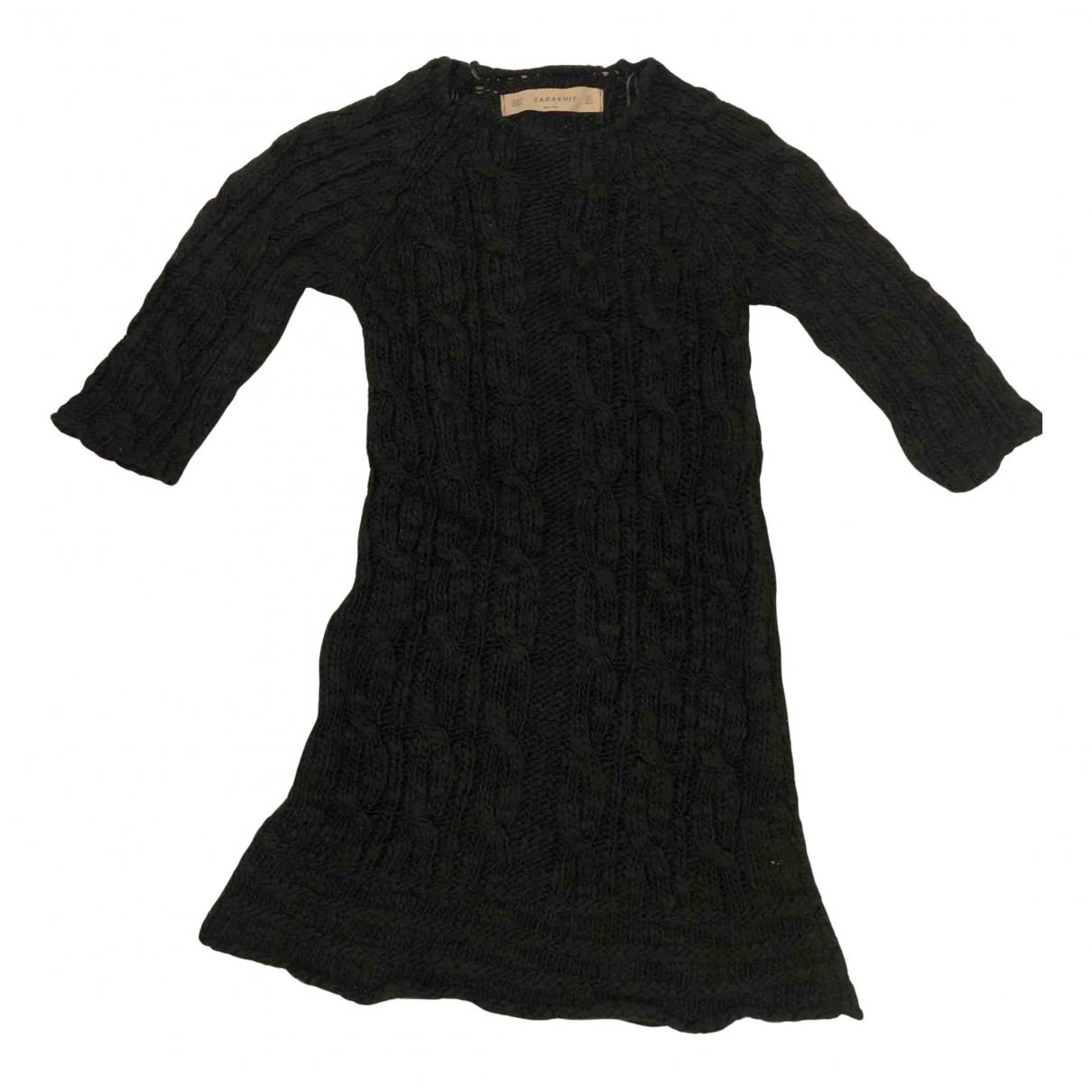 Zara N Green Wool Knitwear for Women L International