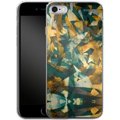 Apple iPhone 6s Silikon Handyhuelle - Raw Texture von Danny Ivan