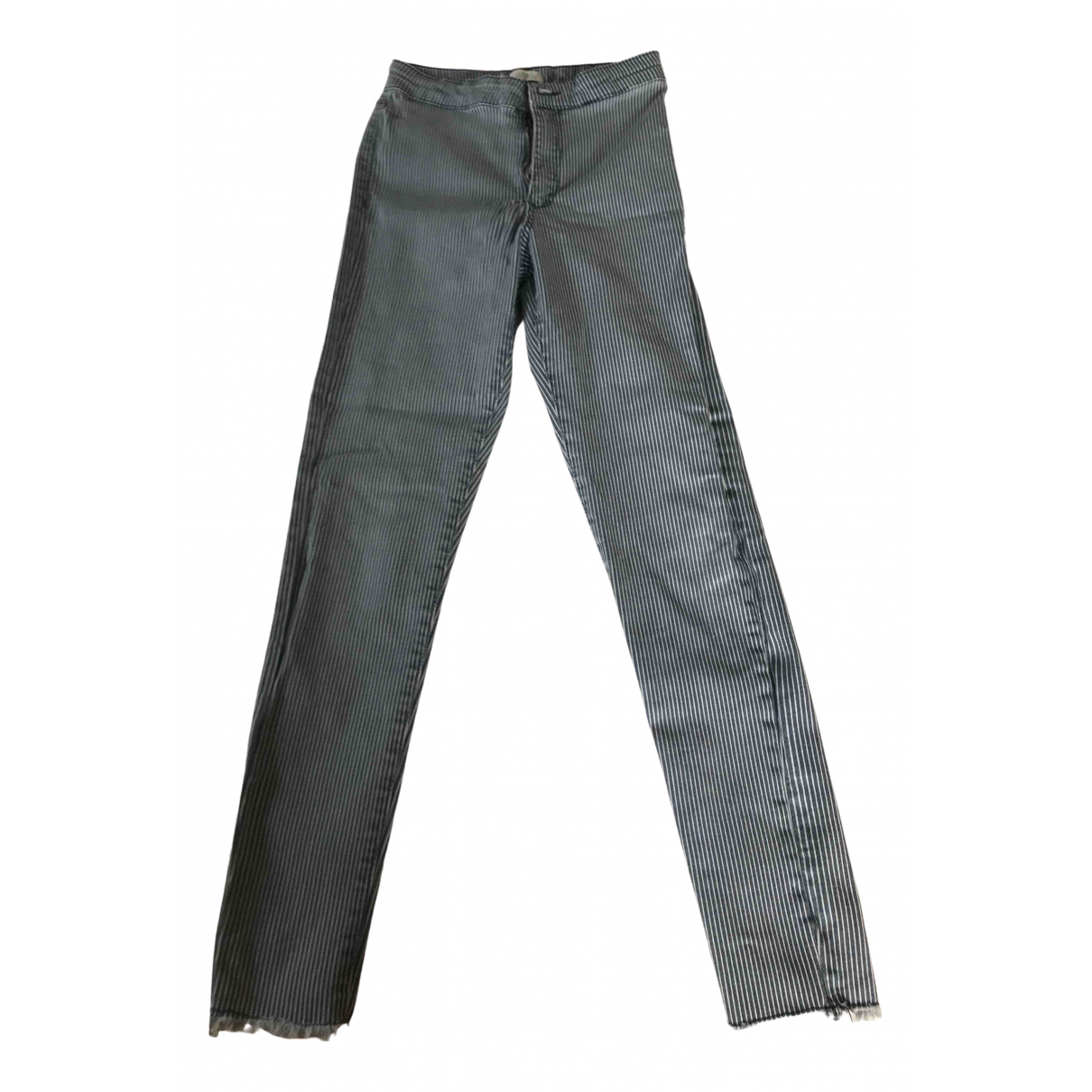 Zara N Blue Denim - Jeans Trousers for Kids 14 years - S FR