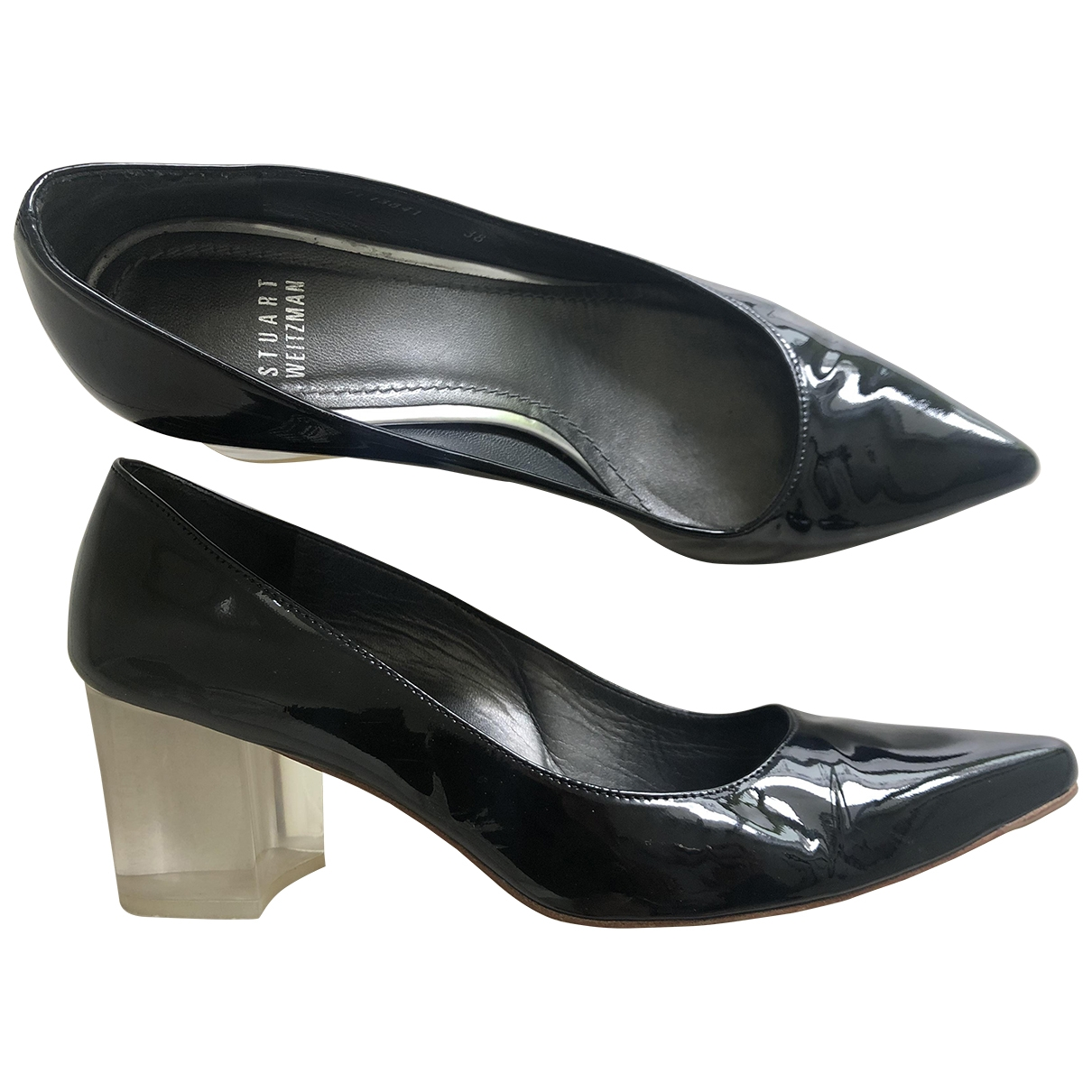Stuart Weitzman \N Black Patent leather Heels for Women 38 EU