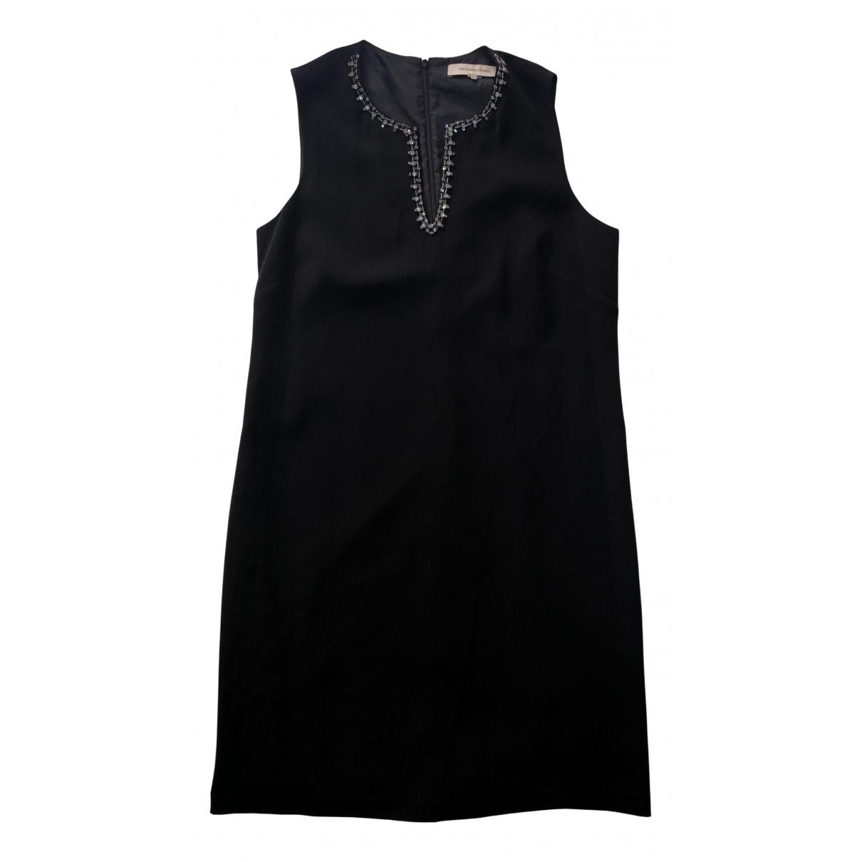 Gerard Darel \N Kleid in  Schwarz Polyester