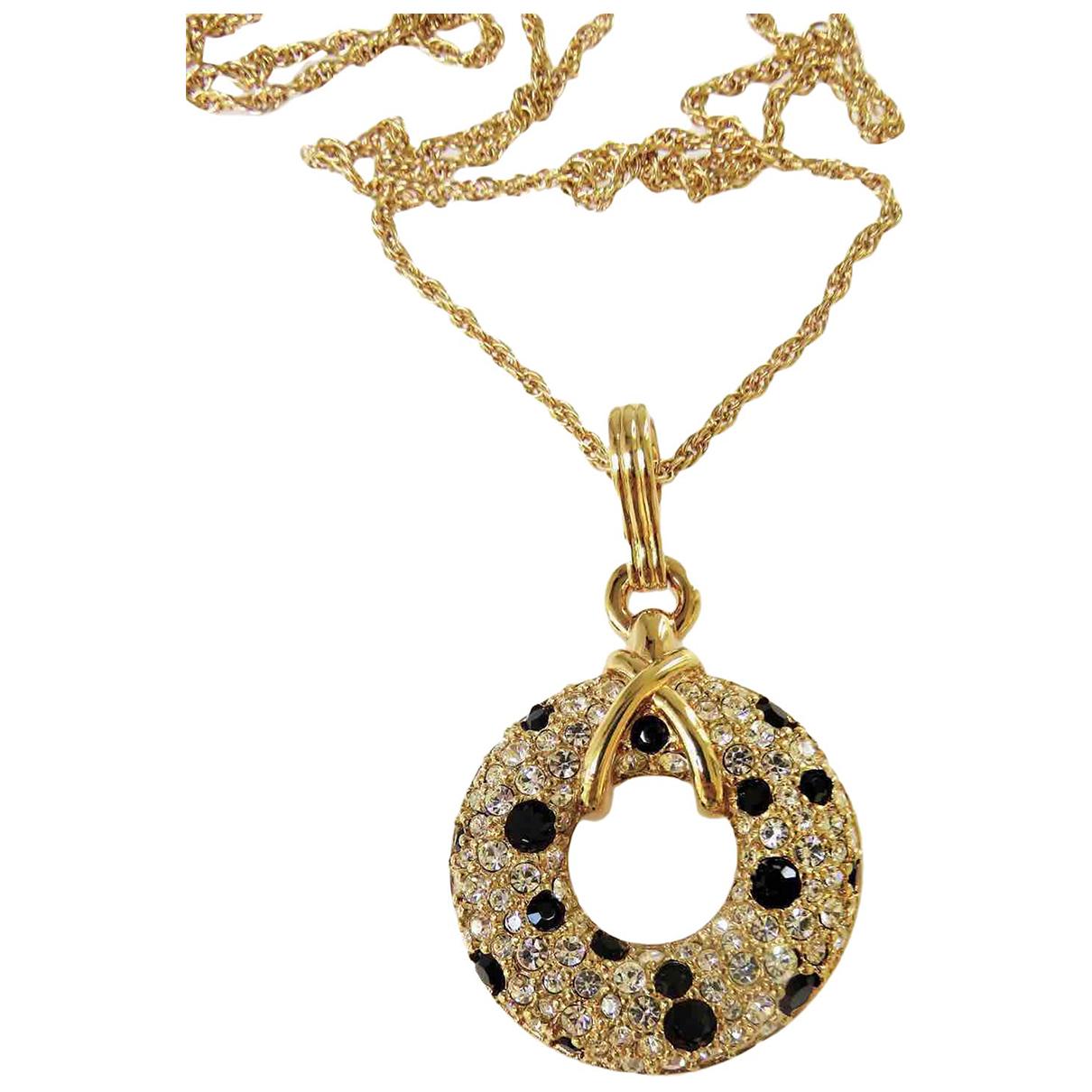 Swarovski - Collier   pour femme en plaque or - dore