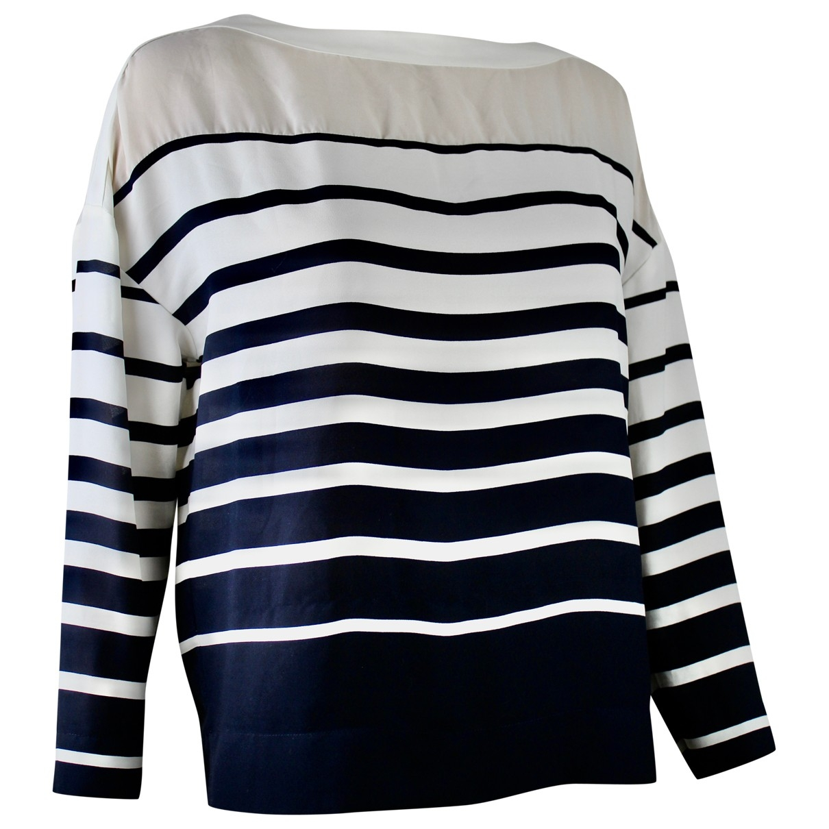 Jean Paul Gaultier \N Top in  Marine Polyester