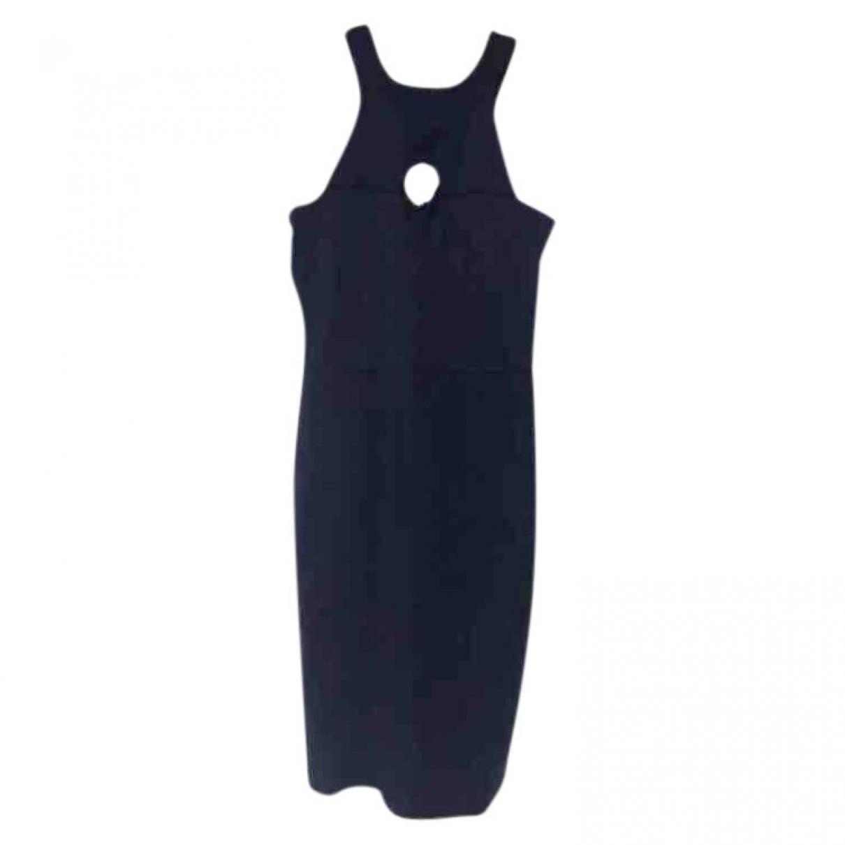 Burberry \N Kleid in  Blau Viskose