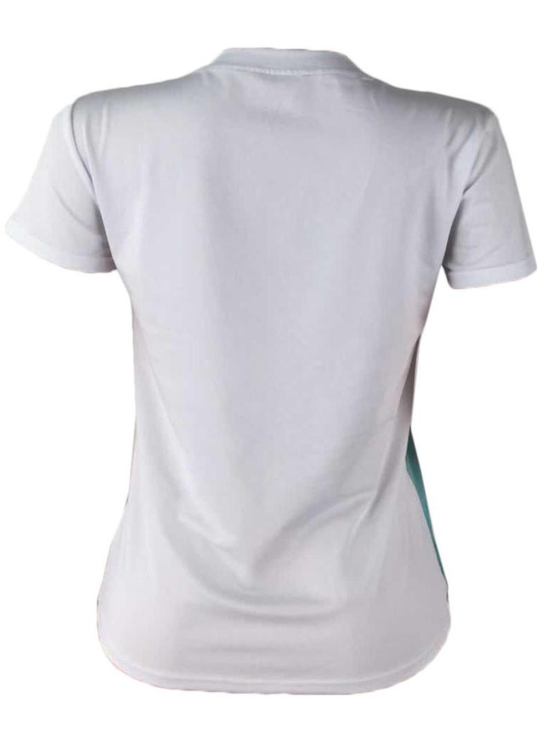 Ericdress Letter Color Block Plus Size Short Sleeve T-Shirt