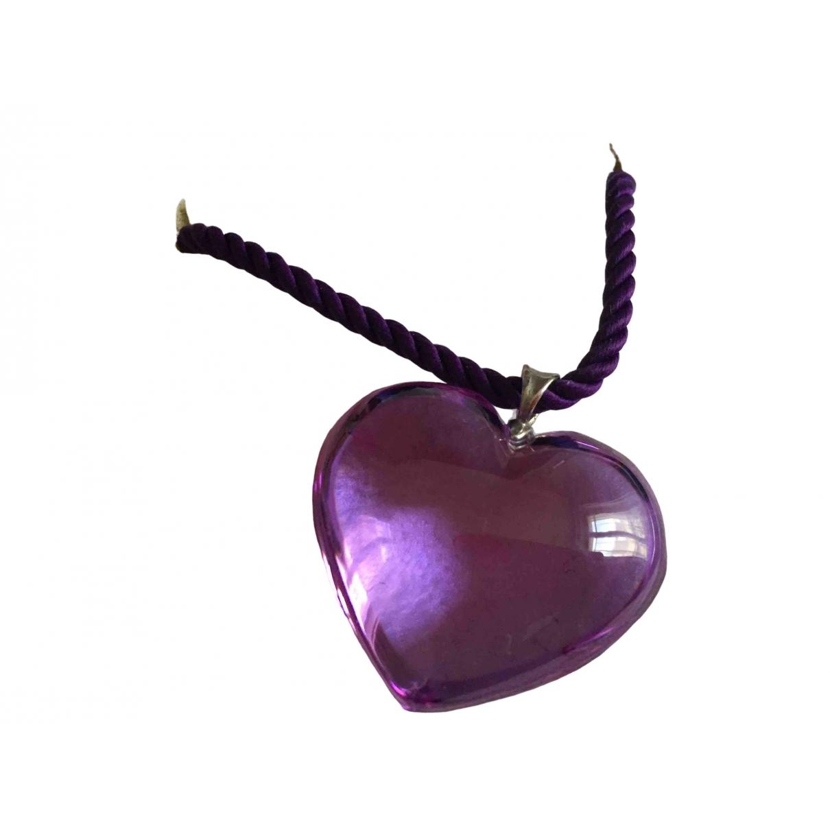 Baccarat \N Purple Crystal pendant for Women \N