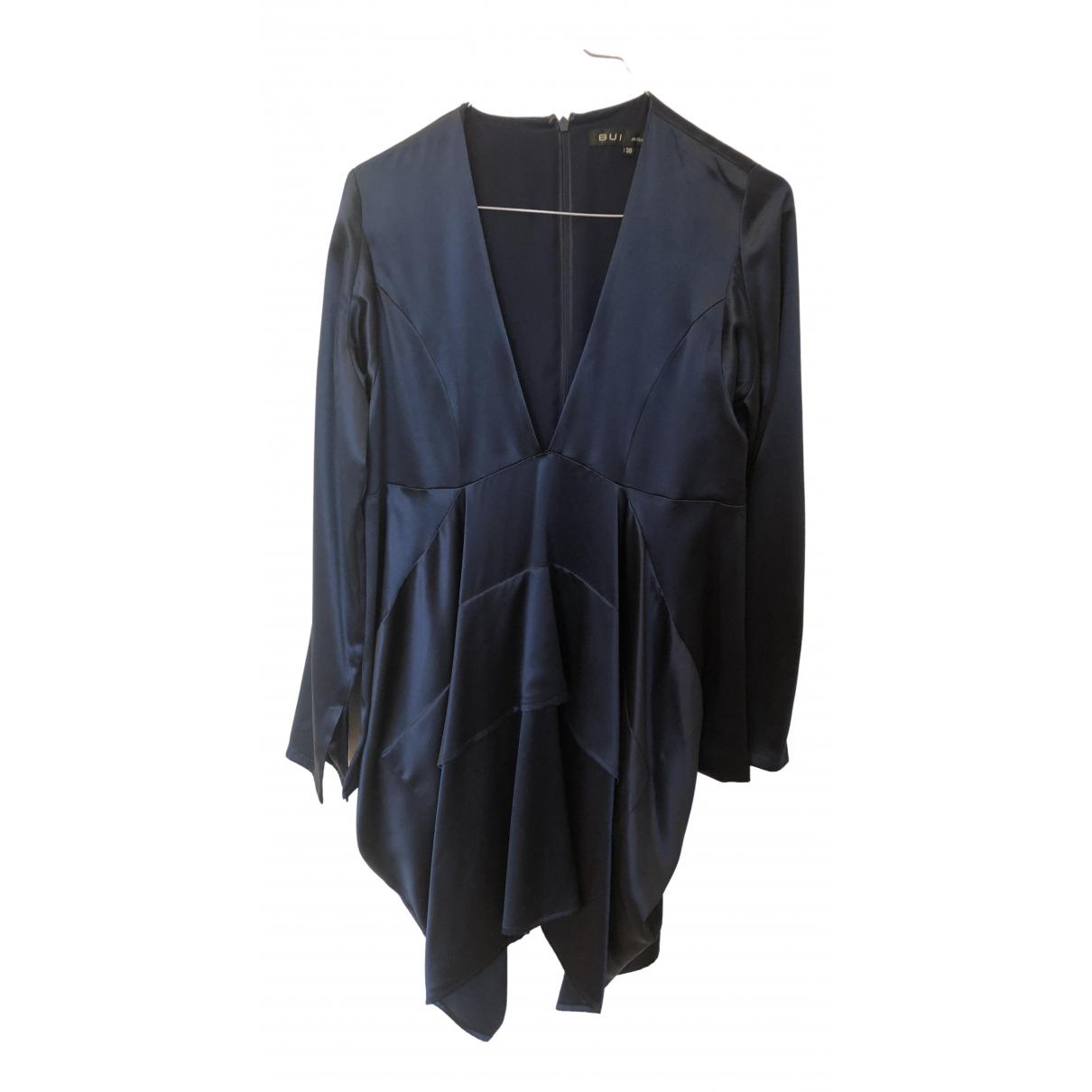 Barbara Bui \N Navy Silk dress for Women 38 FR
