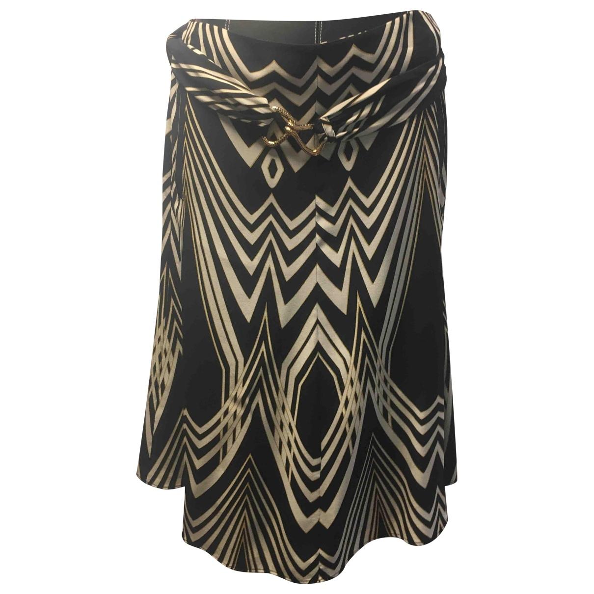 Roberto Cavalli \N Multicolour Silk skirt for Women 42 FR