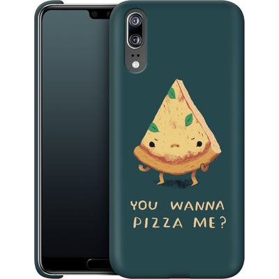 Huawei P20 Smartphone Huelle - You Wanna Pizza Me? von Louis Ros