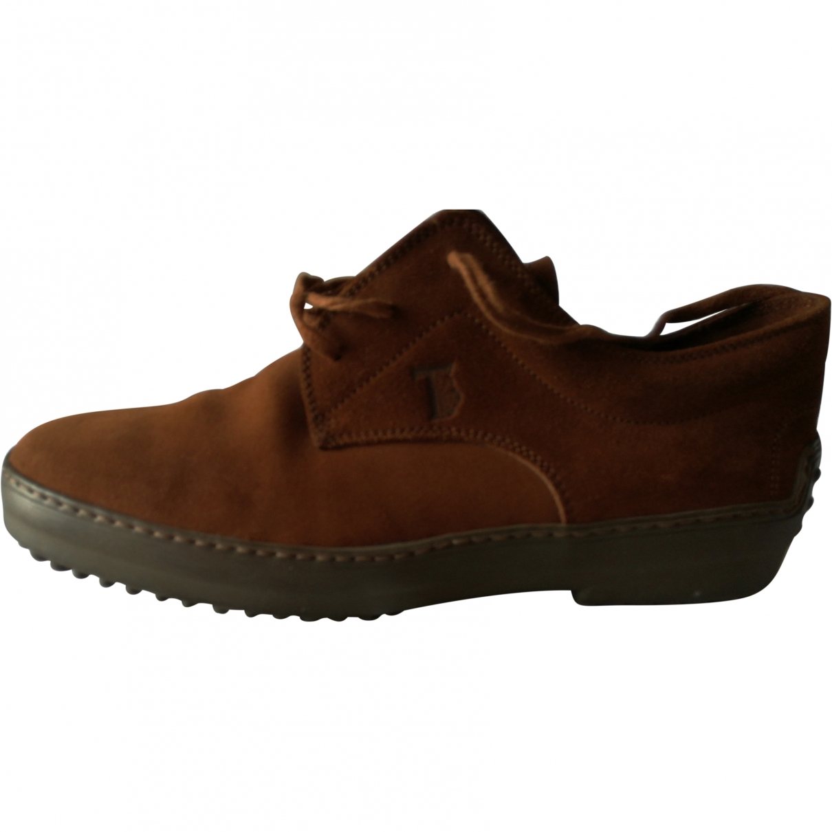 Tod's \N Brown Suede Lace ups for Men 8 US