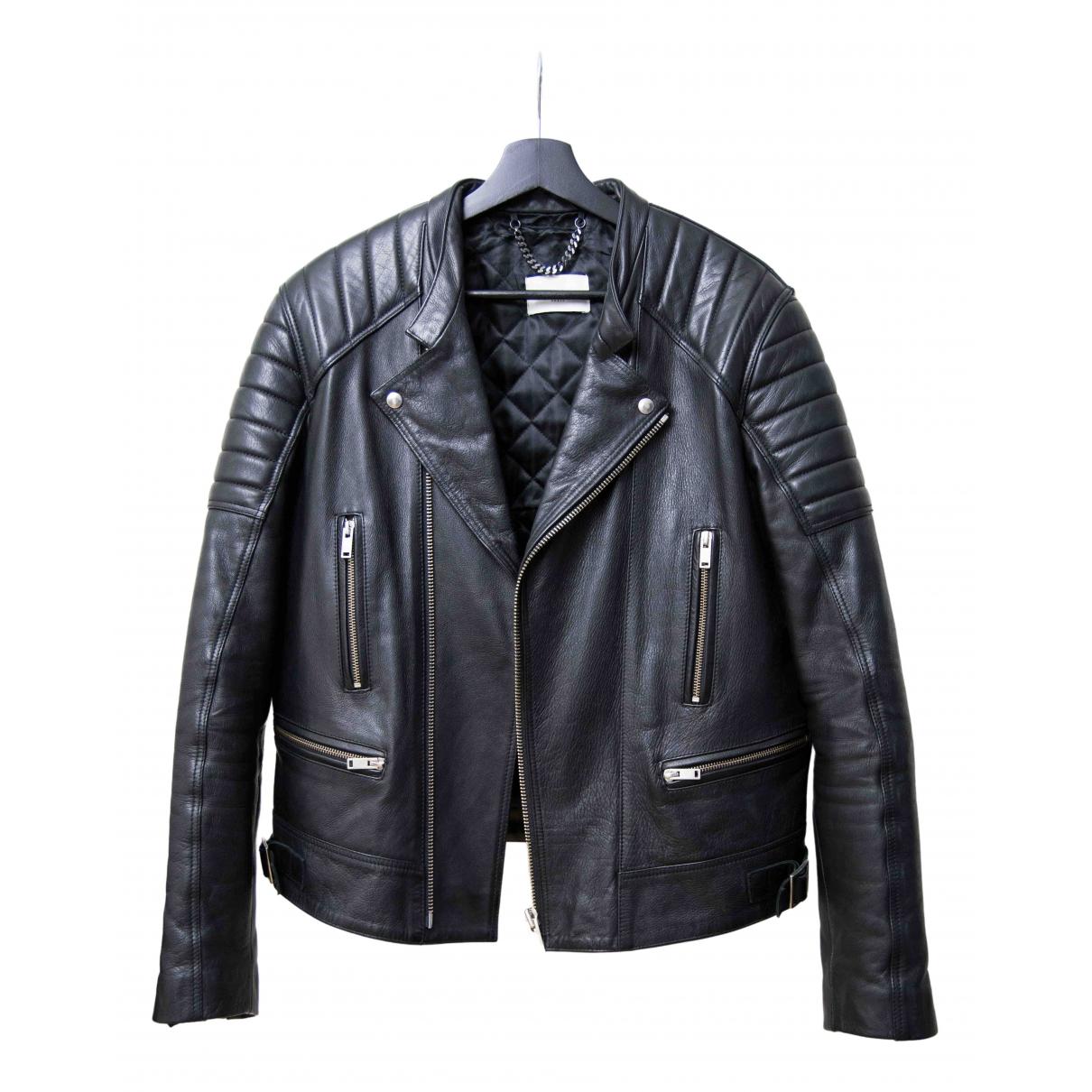 Sandro N Black Leather jacket  for Men L International