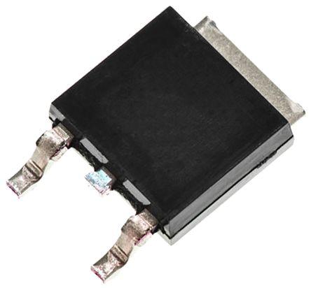 Toshiba N-Channel MOSFET, 3 A, 500 V, 3-Pin DPAK  TK3P50D,RQ(S (20)