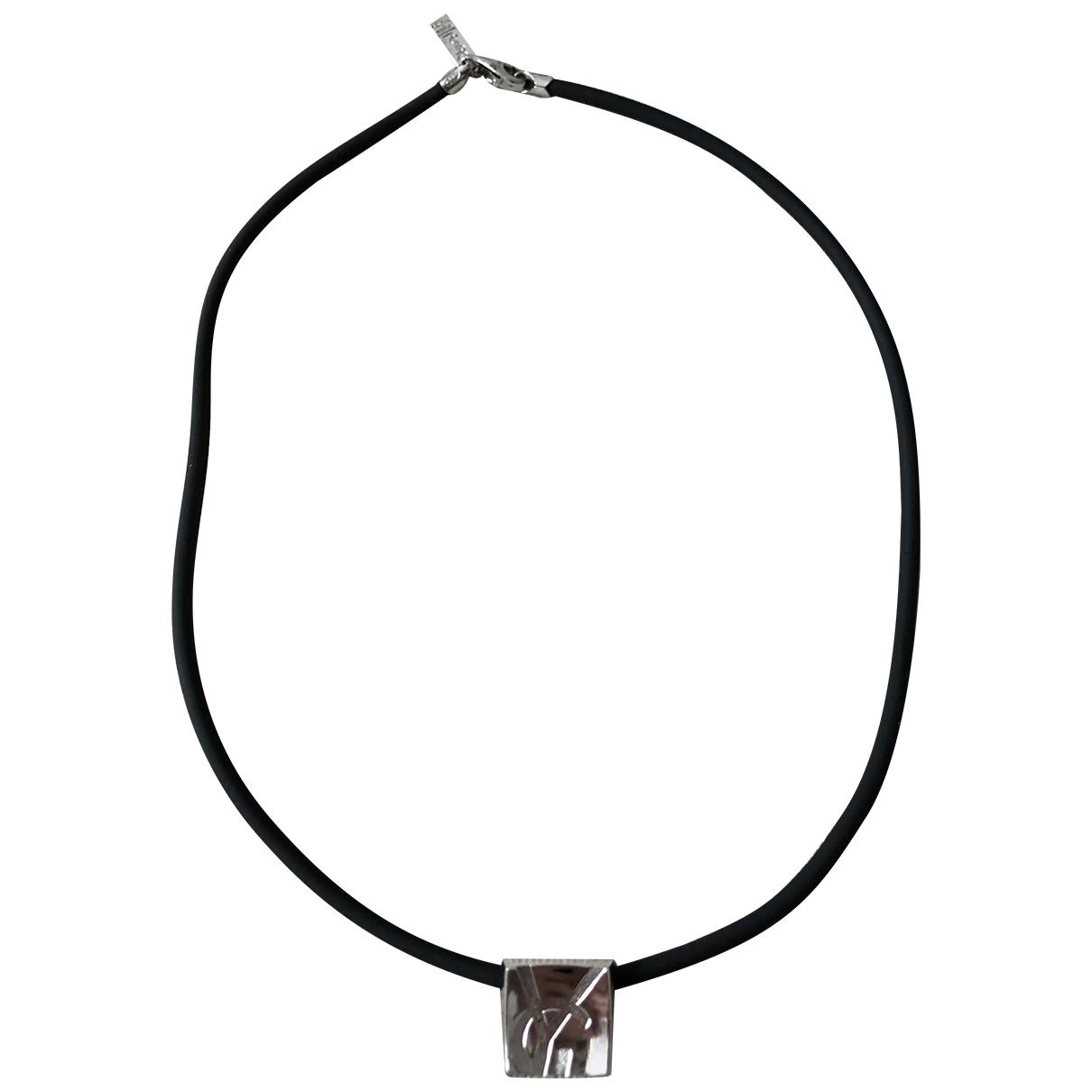 Yves Saint Laurent - Collier   pour femme en argent - argente