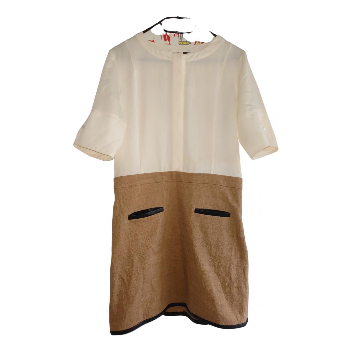 Emporio Armani N Beige Cotton dress for Women 8 UK
