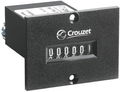 Crouzet CIM36, 6 Digit, Mechanical, Counter, 110 V dc