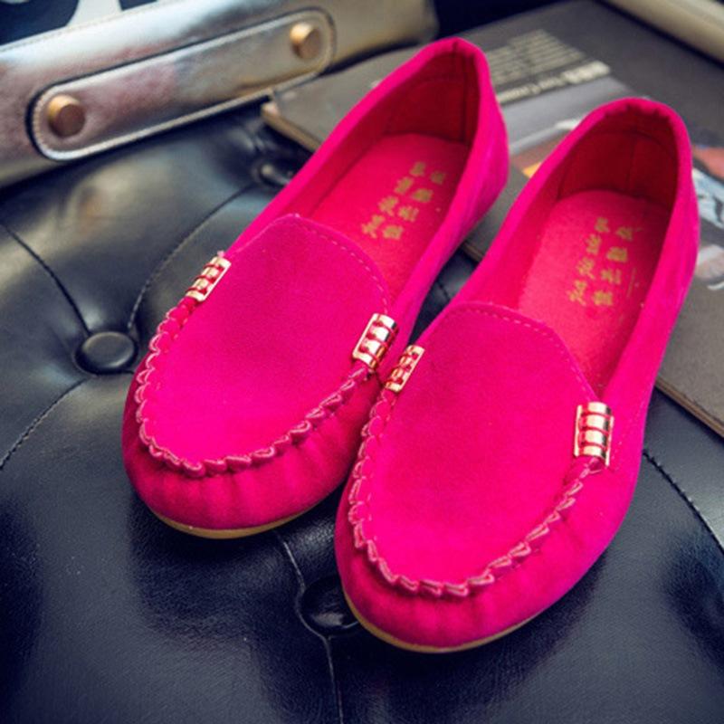 Ericdress Comfy Round Toe Plain Women's Flats