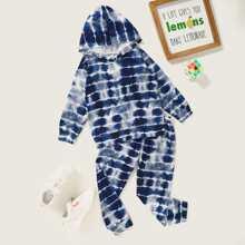 Toddler Boys Tie Dye Hoodie & Sweatpants