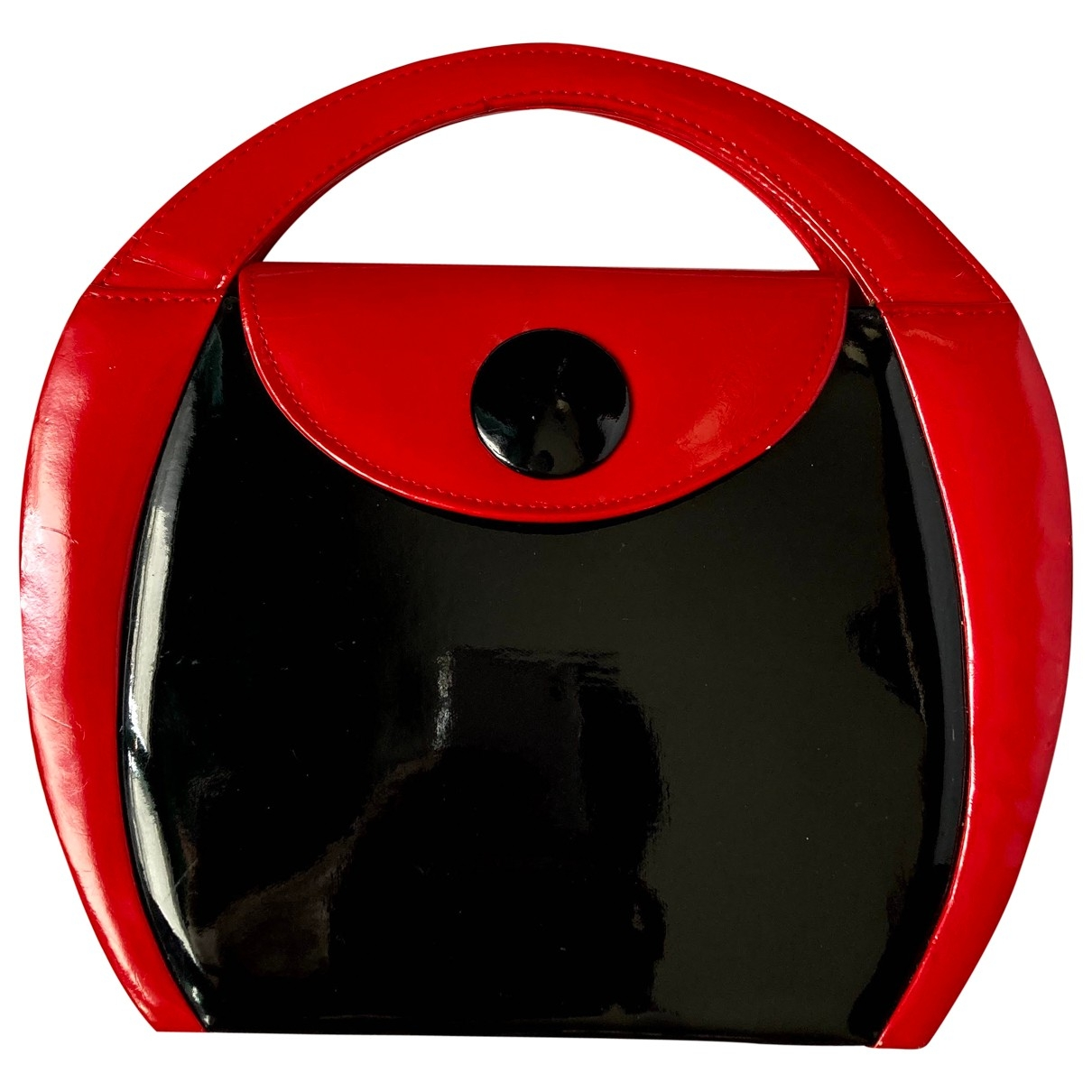 Non Signé / Unsigned \N Red Patent leather handbag for Women \N
