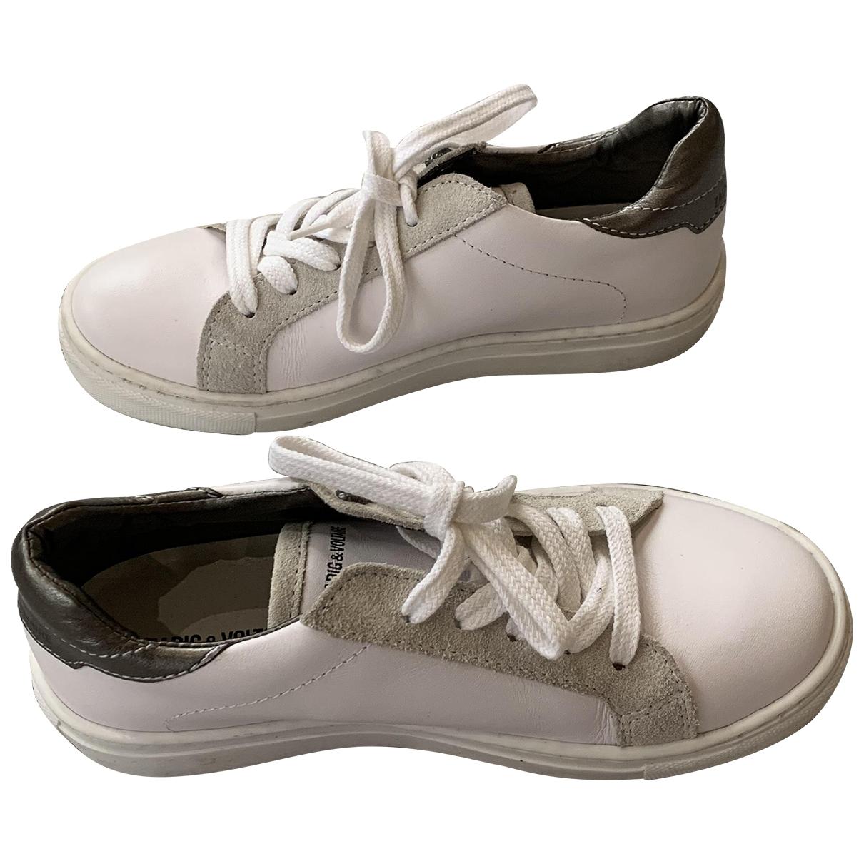 Zadig & Voltaire \N Sneakers in Leder