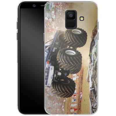 Samsung Galaxy A6 Silikon Handyhuelle - Old School Jump von Bigfoot 4x4