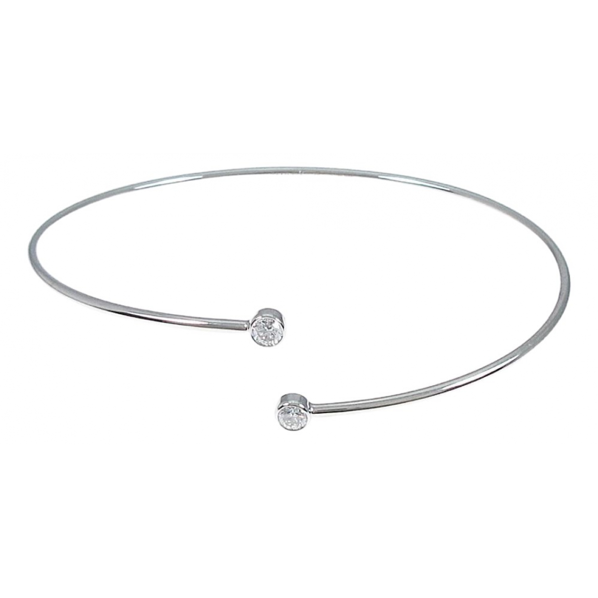 Tiffany & Co \N Armband in  Silber Weissgold