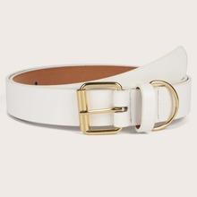 Geometric Buckle Belt
