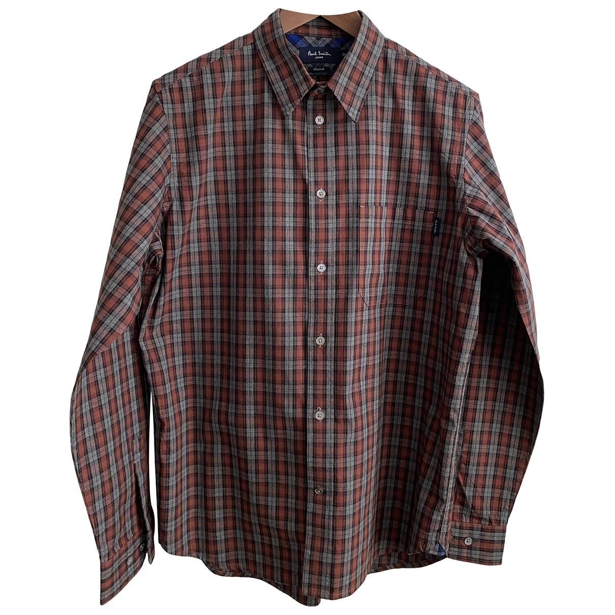 Paul Smith - Chemises   pour homme en coton - gris