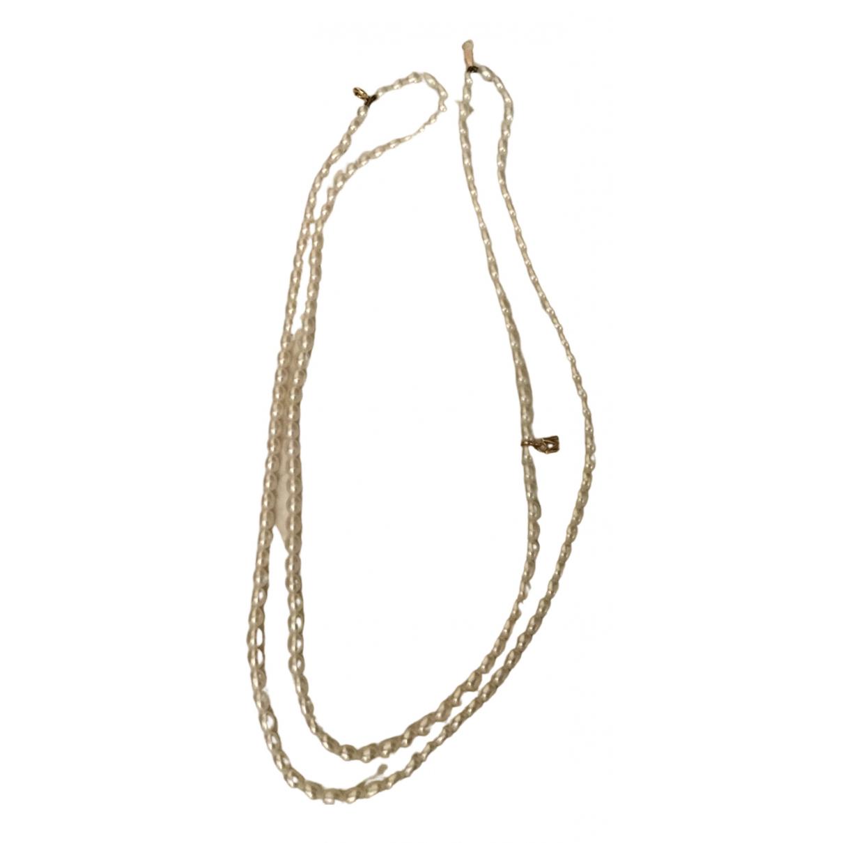 Mikimoto - Collier   pour femme en perle - blanc