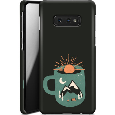 Samsung Galaxy S10e Smartphone Huelle - Mountain Morning Wakeup von ND Tank