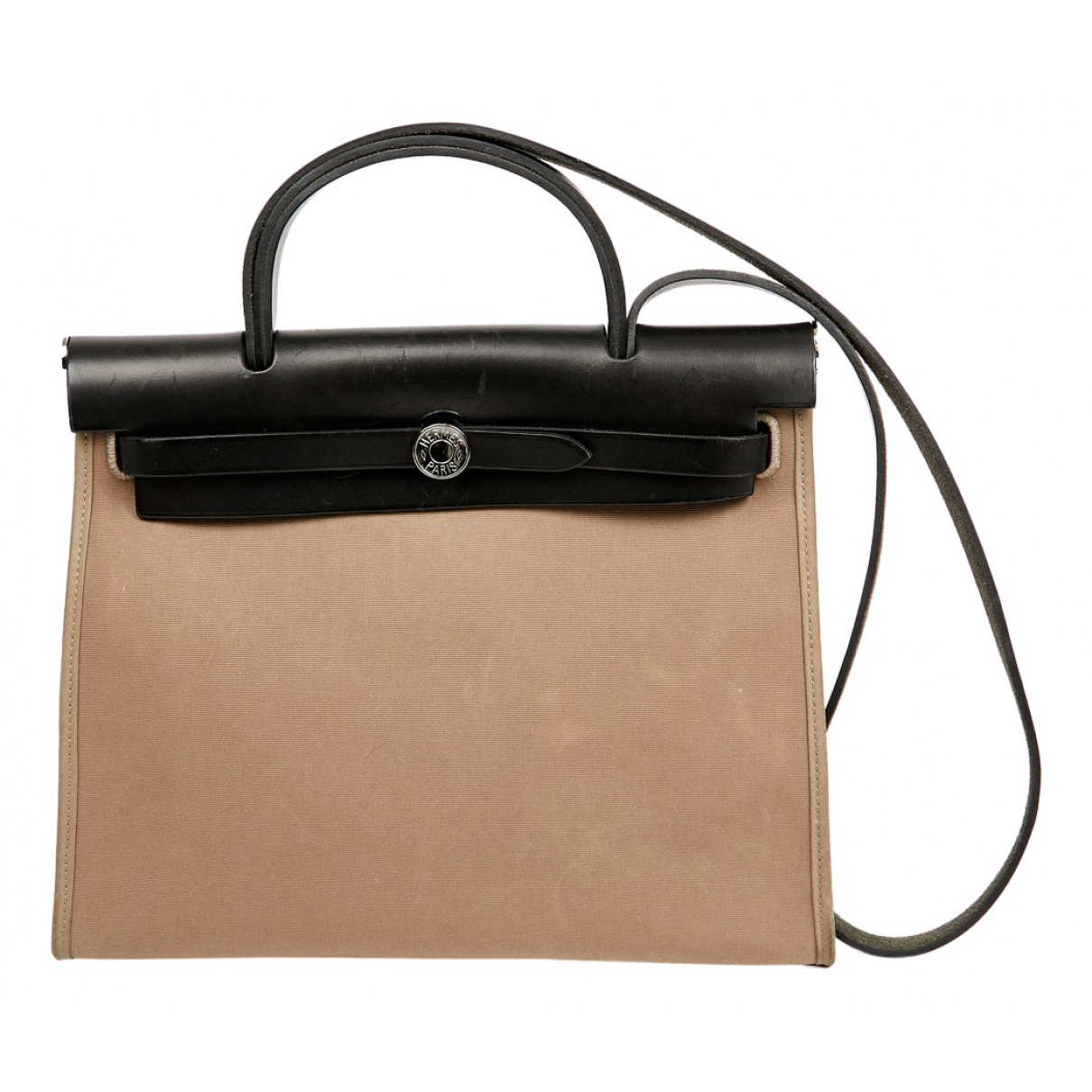 Hermès Herbag Beige Cloth handbag for Women N