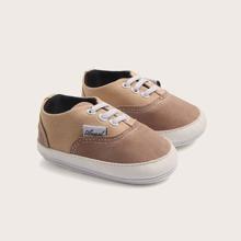 Baby Jungen Slip On Segeltuch Schuhe