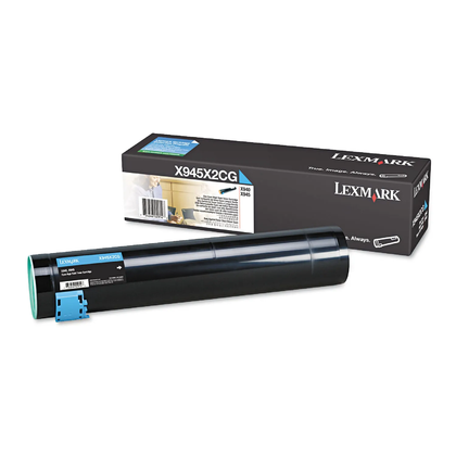 Lexmark X945X2CG Original Cyan Toner Cartridge High Yield