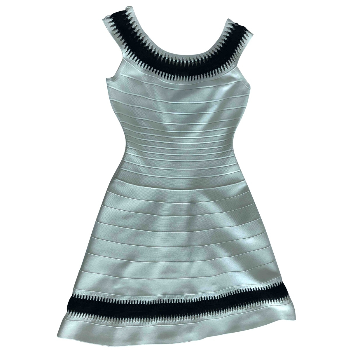 Herve Leger \N White dress for Women S International