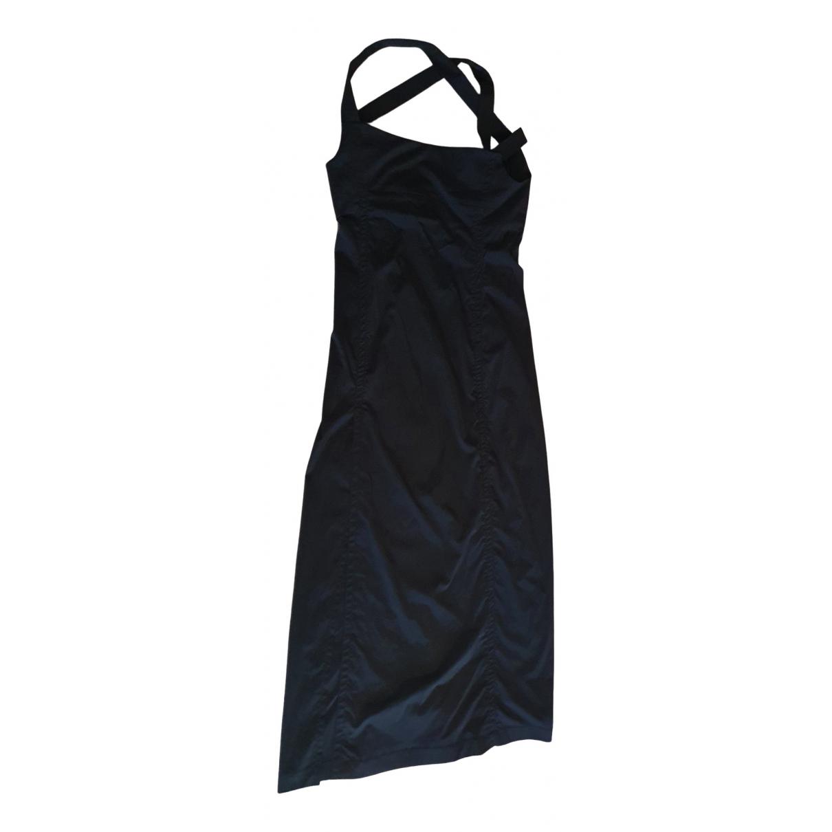 Hyein Seo \N Kleid in  Schwarz Synthetik