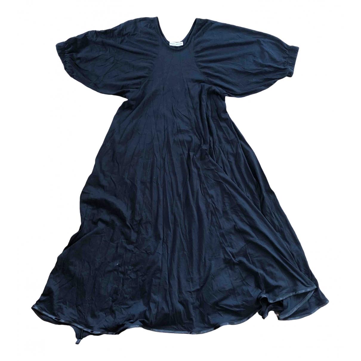 Carin Wester \N Kleid in  Schwarz Baumwolle
