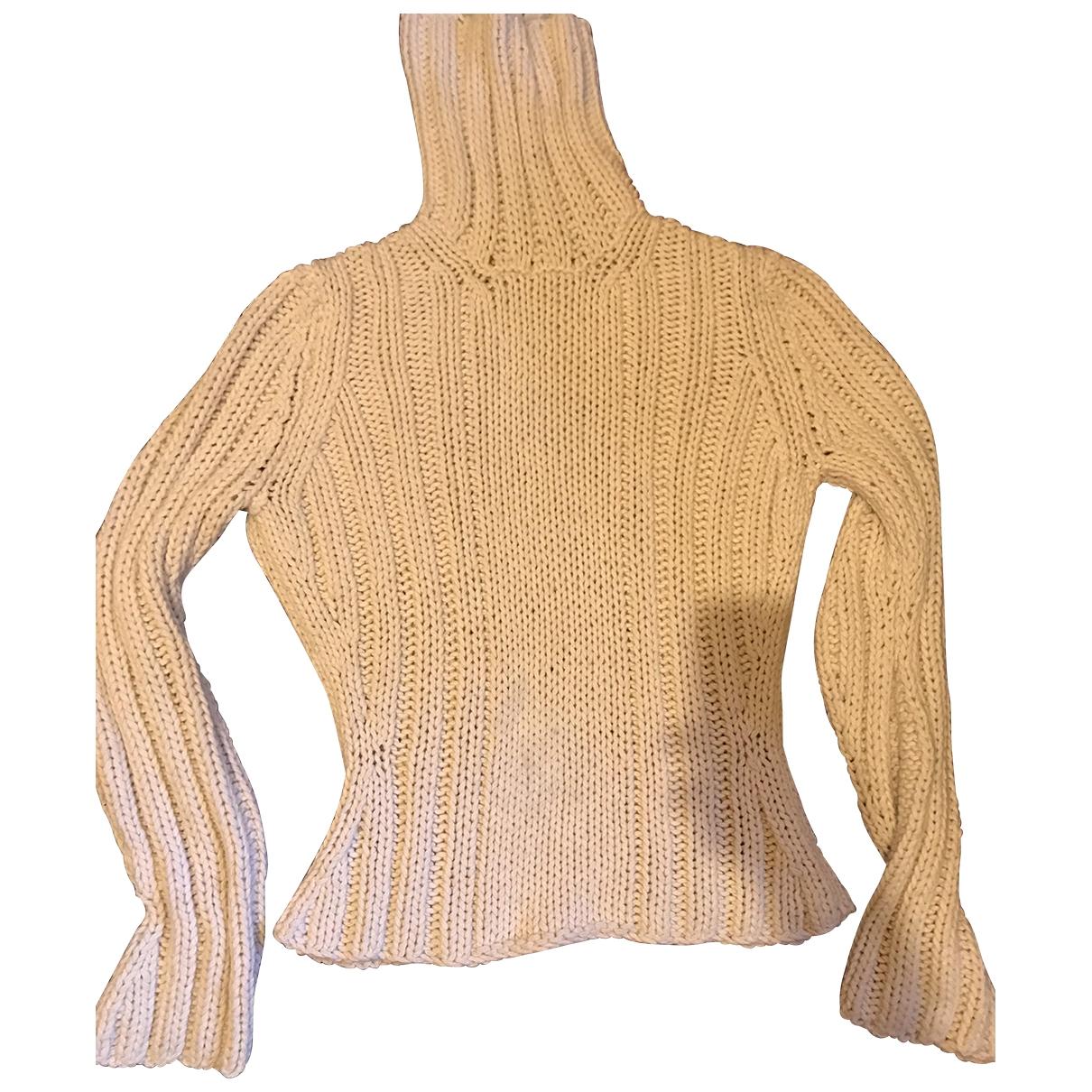 Yves Saint Laurent \N Pullover.Westen.Sweatshirts  in  Beige Kaschmir
