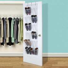 24grid Hanging Shoe Storage Bag