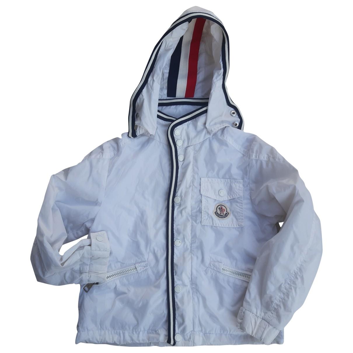 Moncler - Blousons.Manteaux   pour enfant - blanc