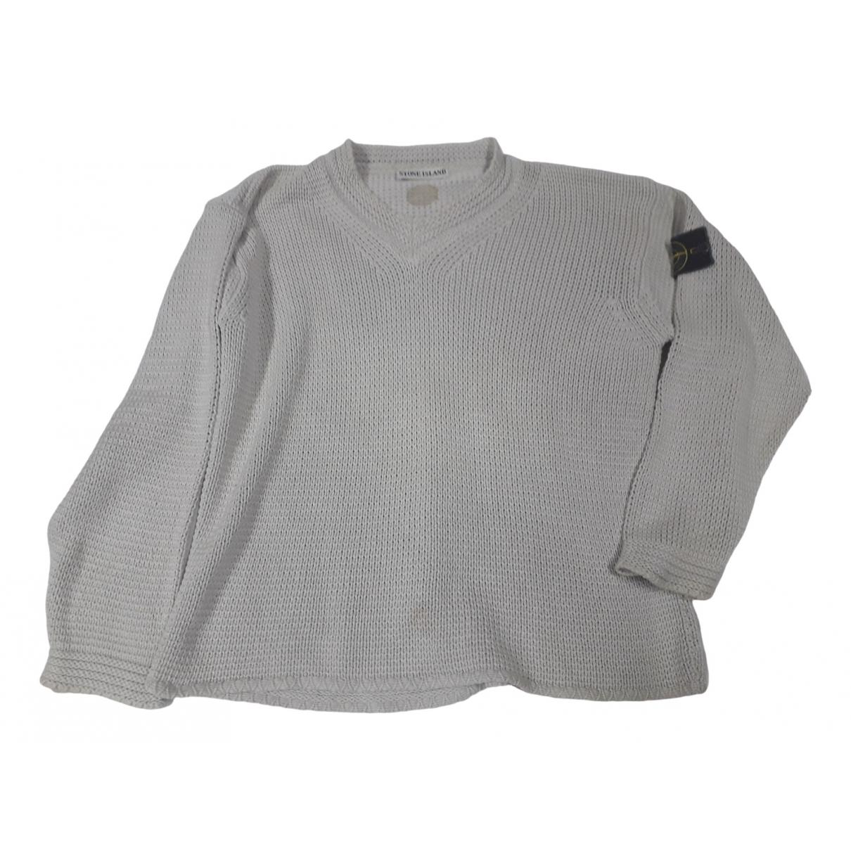Stone Island \N Pullover.Westen.Sweatshirts  in  Grau Seide