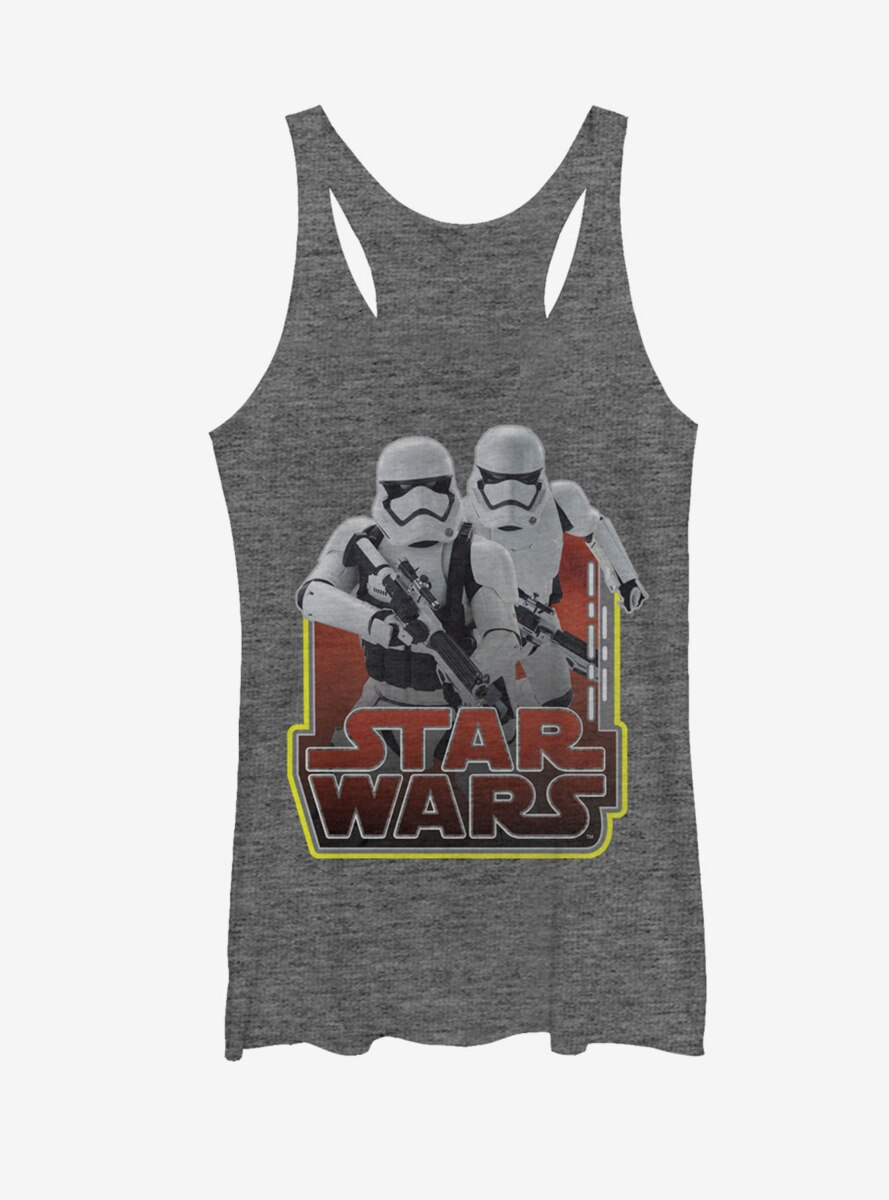 Star Wars The Force Awakens First Order Stormtroopers Womens Tank