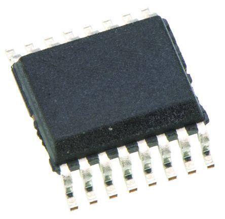 Texas Instruments MAX3221EIDB, Line Transceiver, RS-232, 3.3 V, 5 V, 16-Pin SSOP (5)